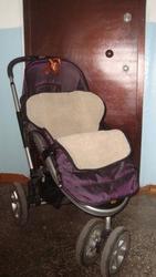 СРОЧНО продам 3колесную коляску зима-лето фирмы Geoby.